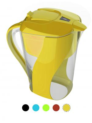 AOK 109 Yellow Alkaline Water Pitcher Filter