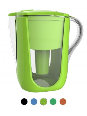 AOK 108A Green Alkaline Water Filter Pitcher
