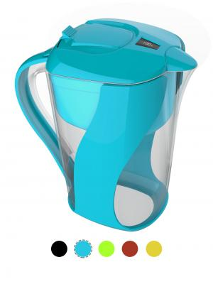AOK 109 Blue Pitcher Of Life Alkaline Water Pitcher
