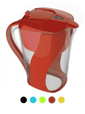 AOK 109 Newest Patent Slim Design Alkaline Water Filter Pitcher