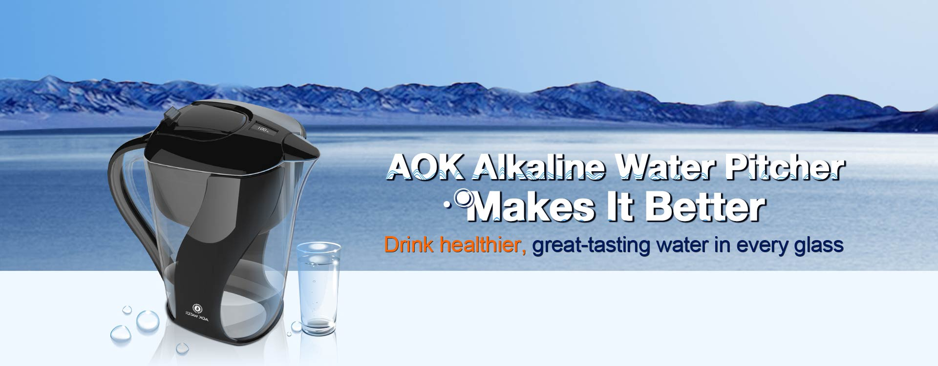 alkaline water pitchers